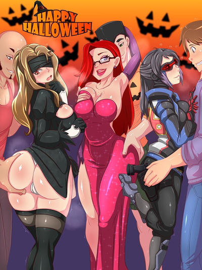 Happy Halloween Party by ventzx1