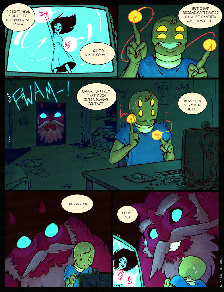 Demon's Mirror-page 261! by harrodeleted