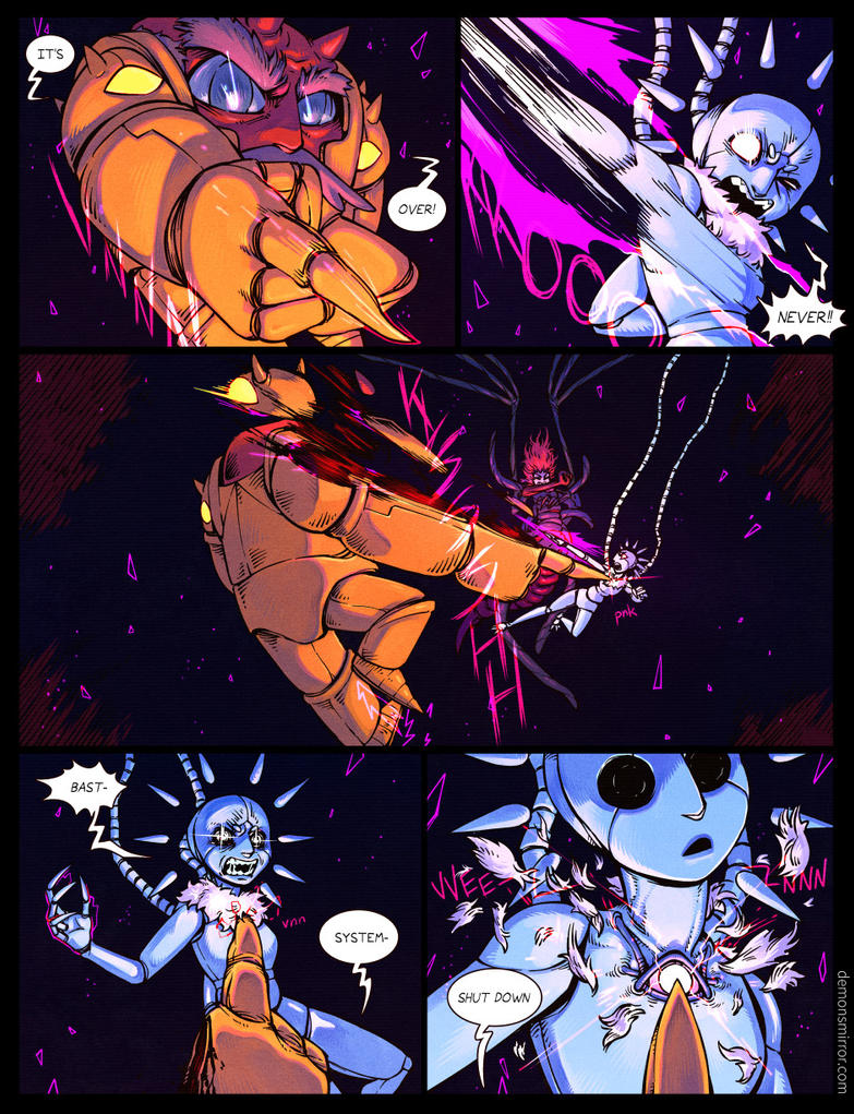 demon's Mirror-page 301! by harrodeleted