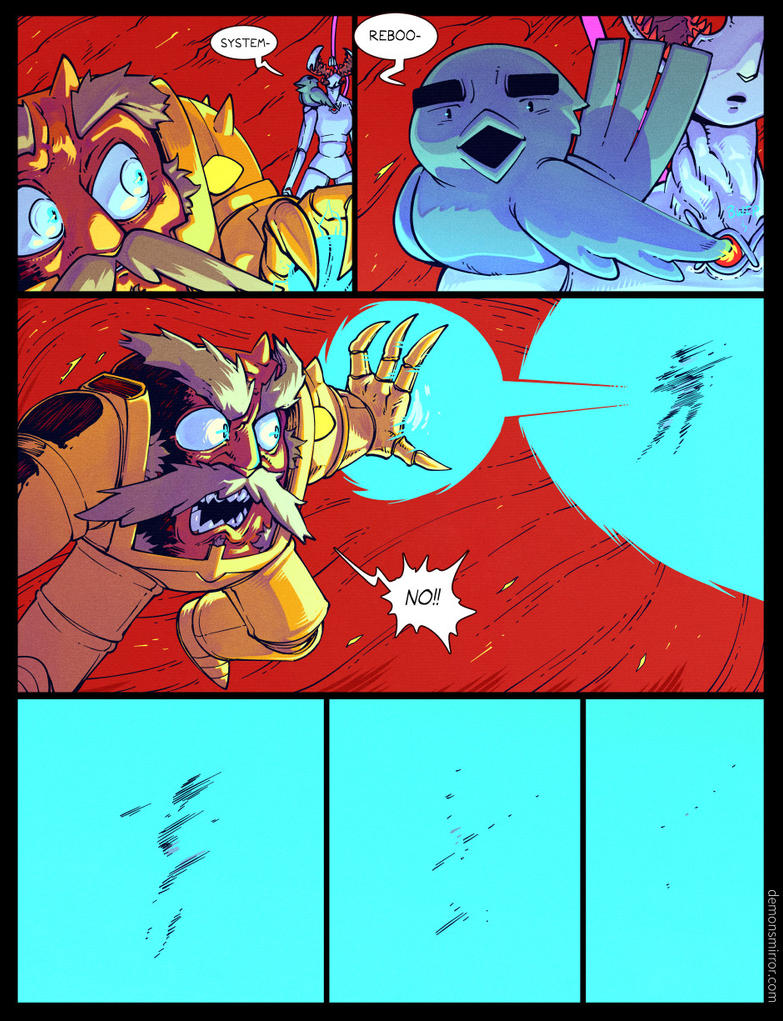 demon's Mirror-page 326! by harrodeleted