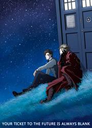 Doctor Who Trigun by nokeek