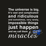 The Universe is big