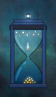 Tardis Star Clock