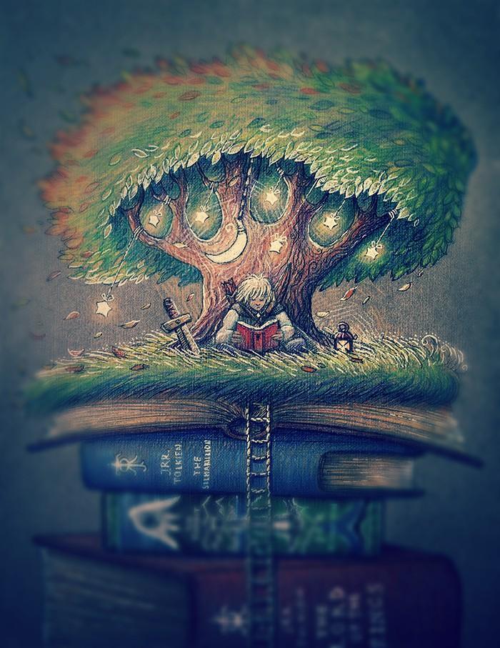 Book Elf by nokeek