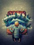 Suitcase Forest