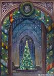 Hogwarts Christmas Card