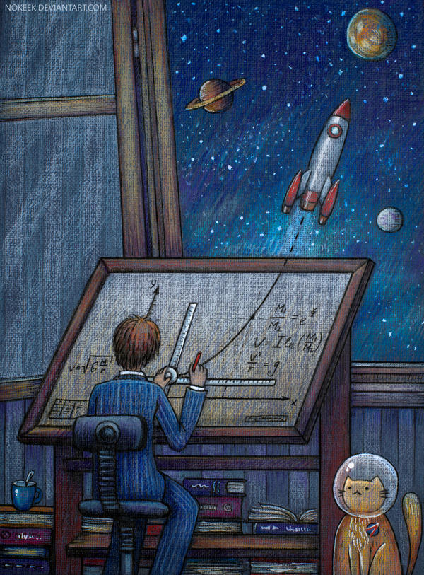 Rocket Science by nokeek