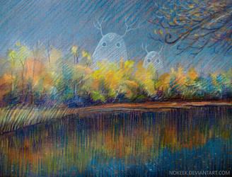Autumn Spirits by nokeek