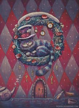 Cheshire Christmas Card
