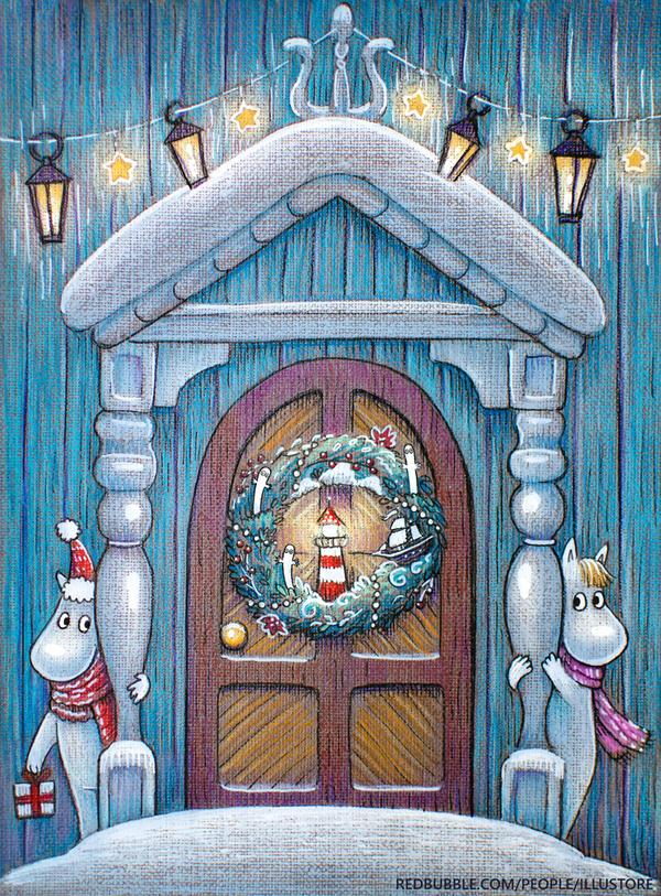 Moomin Christmas by nokeek