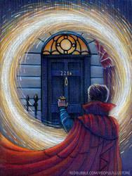 Sherlock Strange by nokeek