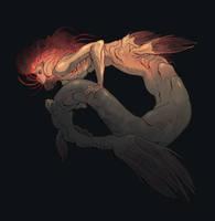 Necromancer Anglerfish Mermaid