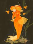 Celestial Eye Goldfish Mermaid