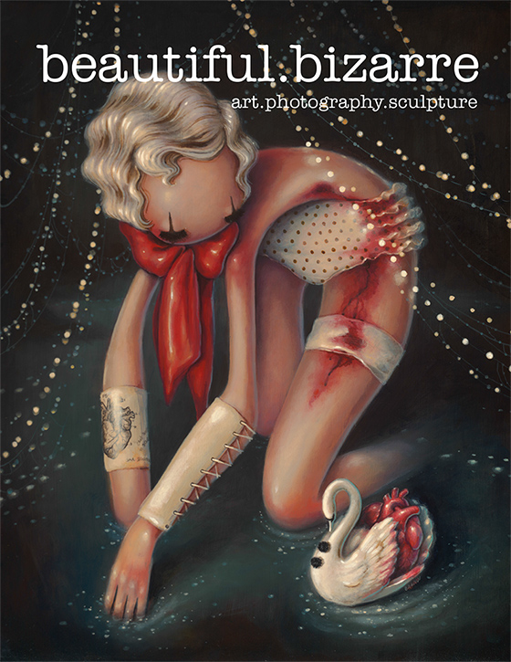 BB Magazine - Dec 14 -cover by BeautifulBizarreMag