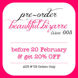 Pre Order beautiful.bizarre magazine Issue 008 by BeautifulBizarreMag