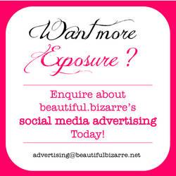 Social Media Advertising by BeautifulBizarreMag