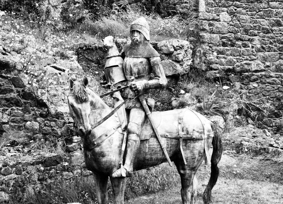 knight in shining armor by czakalwe