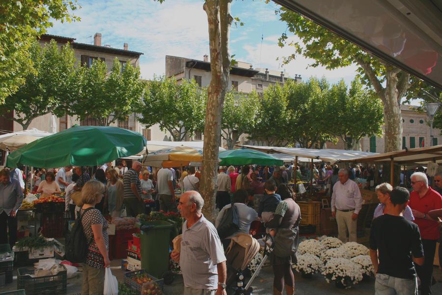Pollenca market by czakalwe