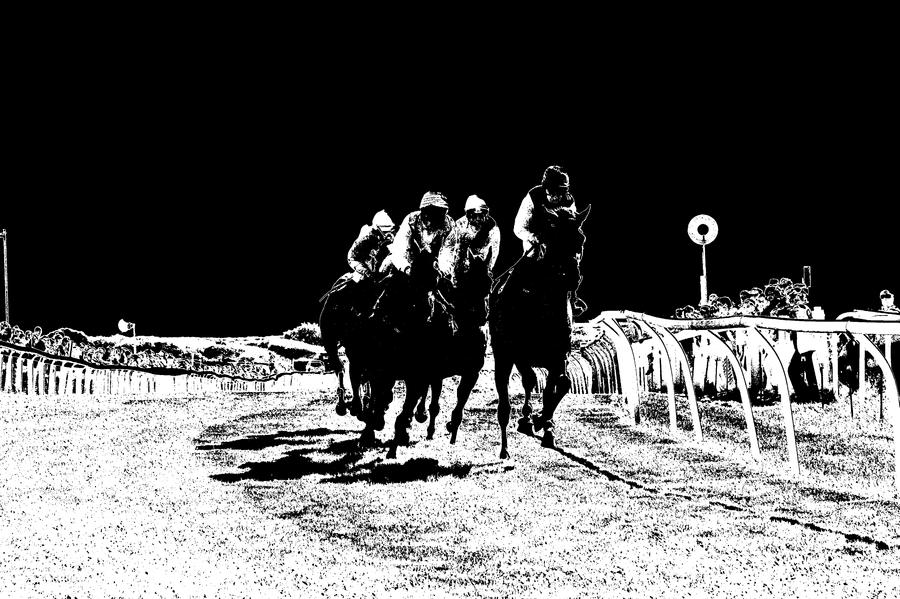 negative horse race by czakalwe