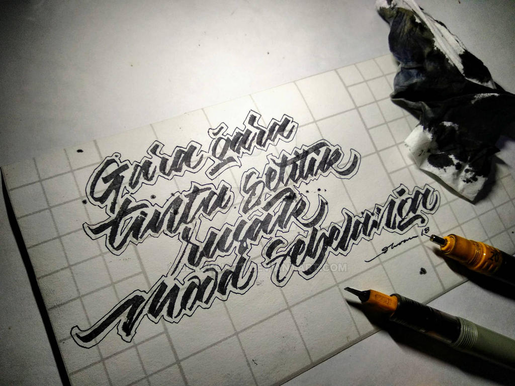 Gara gara tinta setitik... by blacklistt
