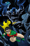 Batman And Robin Inks By Scott Williams By Digital