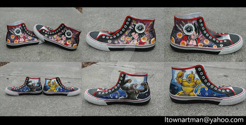 Super Saiyan 4 shoes
