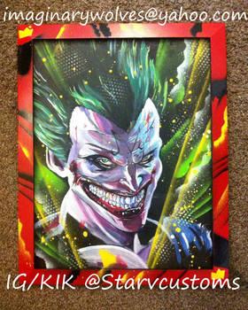 Joker / Majin Vegeta mash up