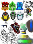 Random Bionicle TFA sketches