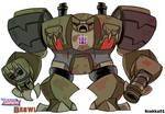Animated Brawl - The 'Brute'