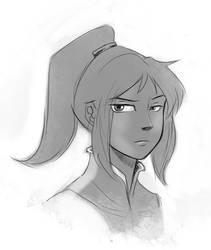 Possible Korra face?
