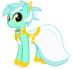 Lyra's Gala Dress