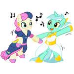 Lyra and BonBon Dance