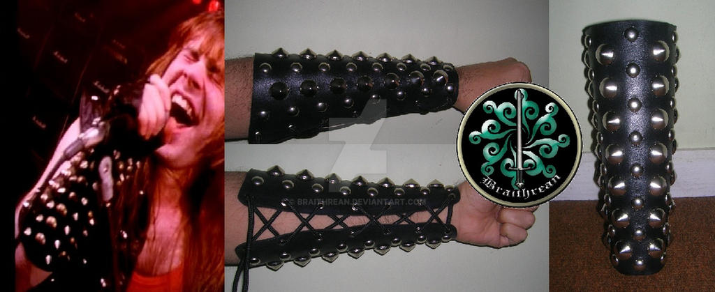 Bruce Dickinson's Bracer by braithrean