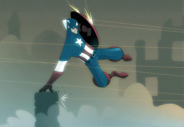captain america by FernandoLucas