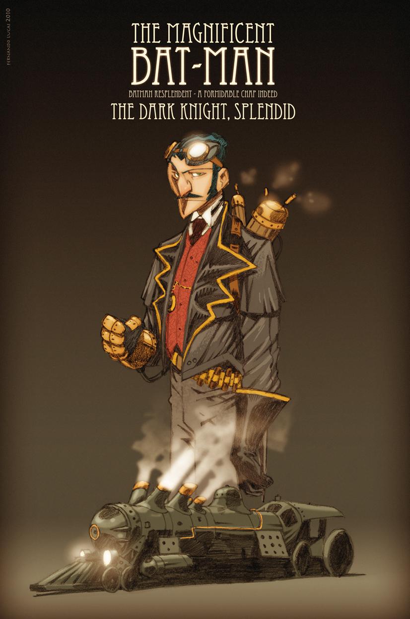 Batman steampunk by FernandoLucas