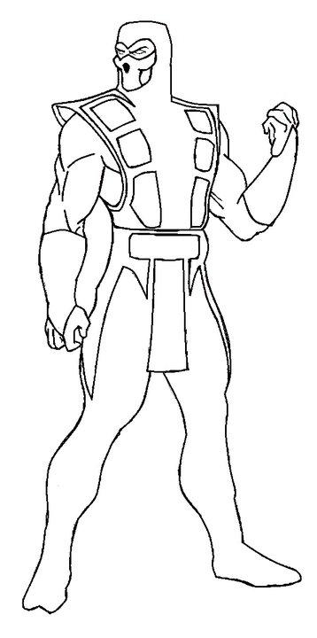 Mortal Kombat: Sub Zero Sketch by AlExAnDrUMaRiAn on ...