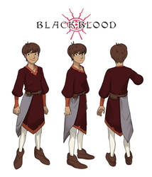 Kanna Concept Art - Blackblood