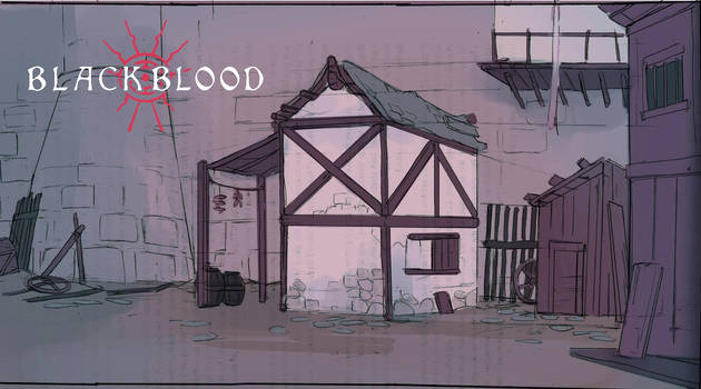 Oran's house concept - Blackblood
