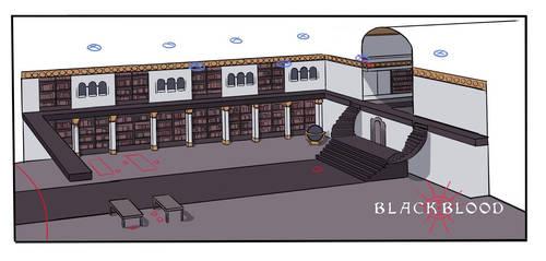 Library concept 1 - Blackblood