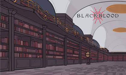 Library concept 2 - Blackblood