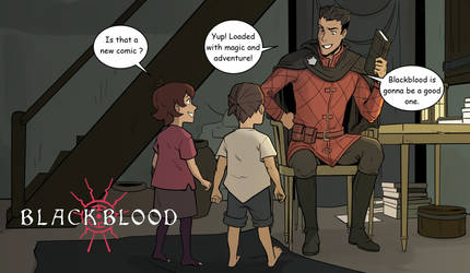 Blackblood releases in two days!
