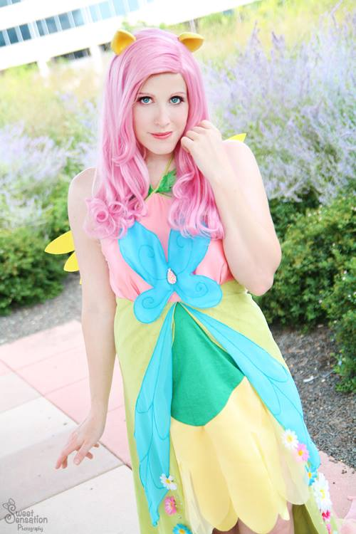 Fluttershy Smile - Galla dress by koi-ishly