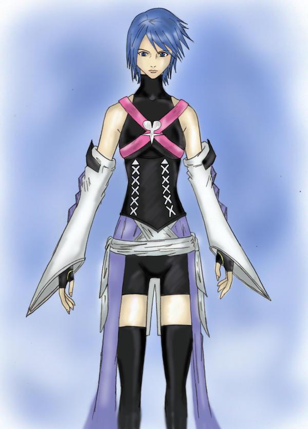 Kingdom Hearts: Aqua by MonkeyTheMan