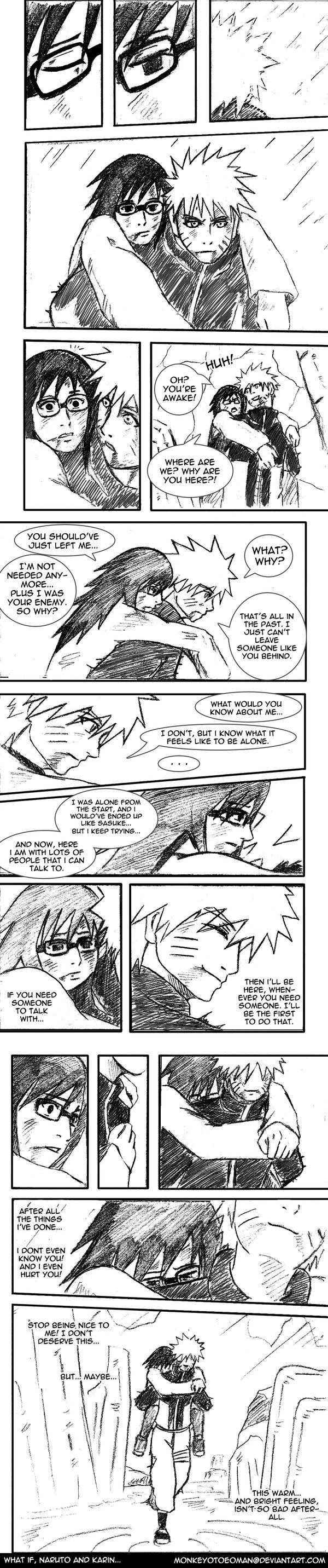 Karin X Naruto