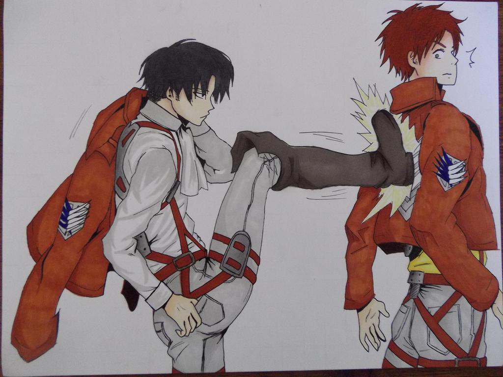 Levi and Eren