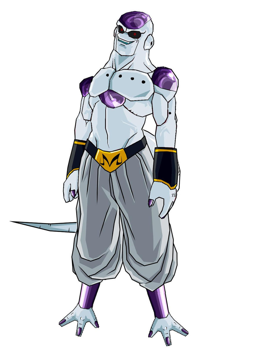 Super Buu Absorbed Frieza by justin626 on DeviantArt