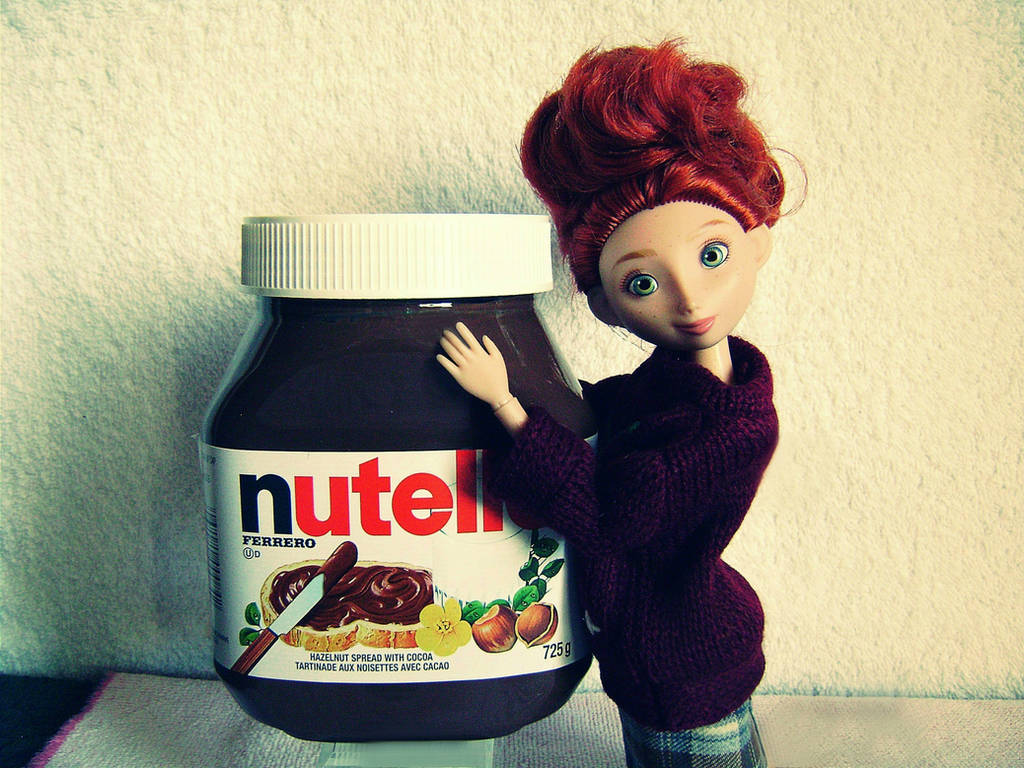 Nutella and Merida by Snouie on DeviantArt
