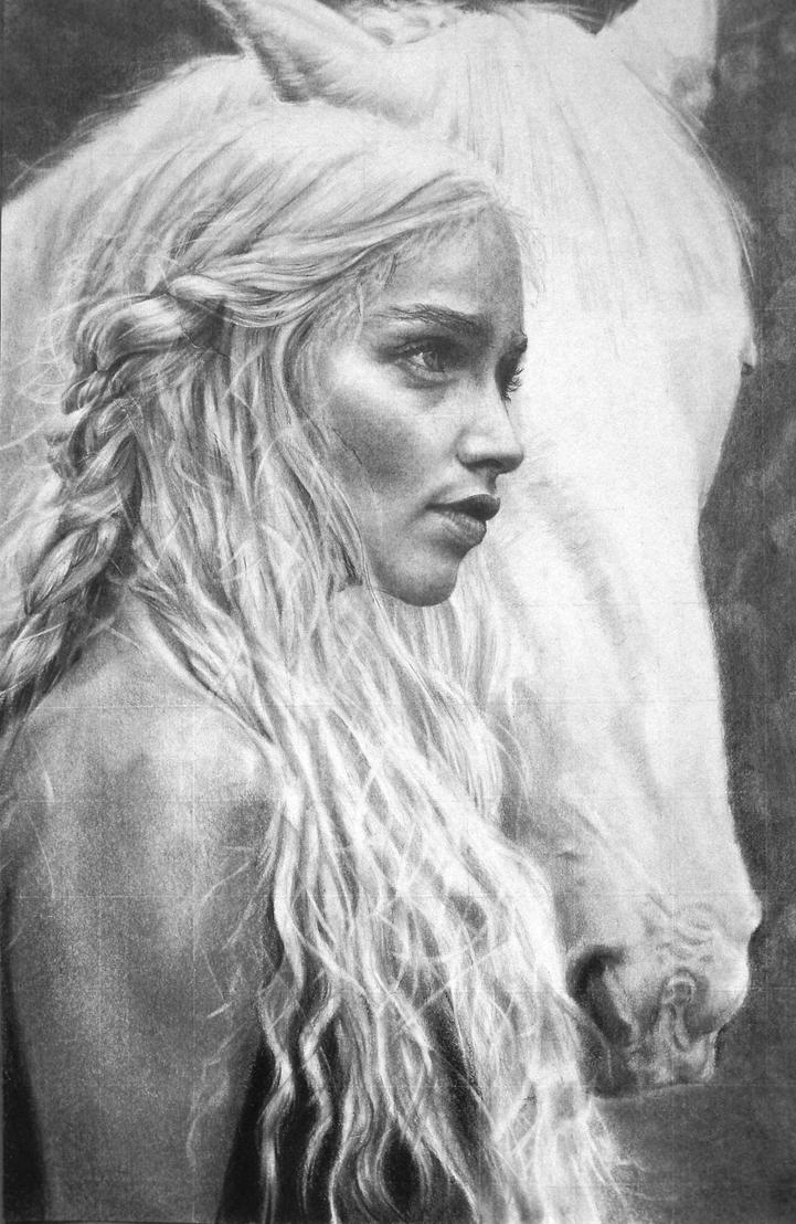 Game of thrones: Khaleesi by Fusionofforces