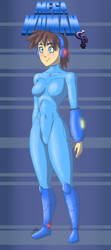 Mega Woman Redesign 2019 by Epe