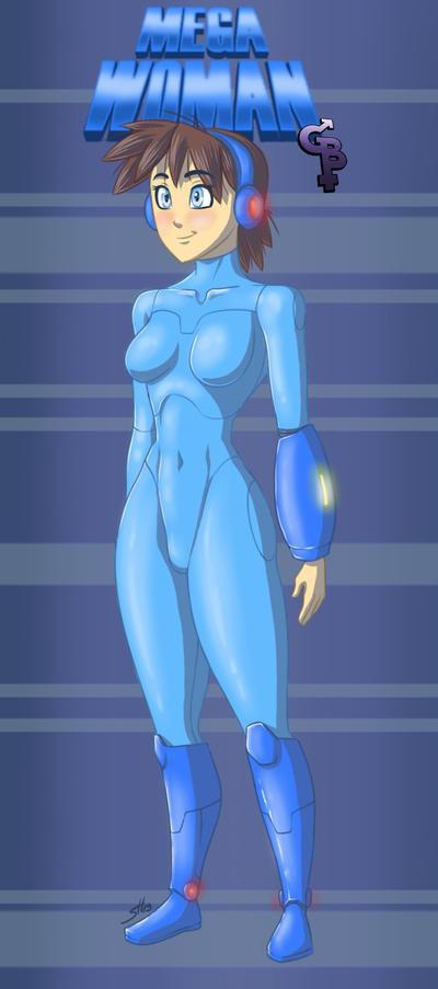 Mega Woman Redesign 2019